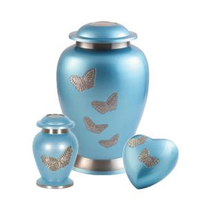Butterflies ashes urn